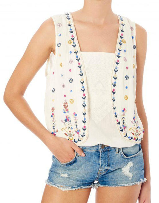 ENA EMBROIDERED WAISTCOAT - JUSTBRAZIL