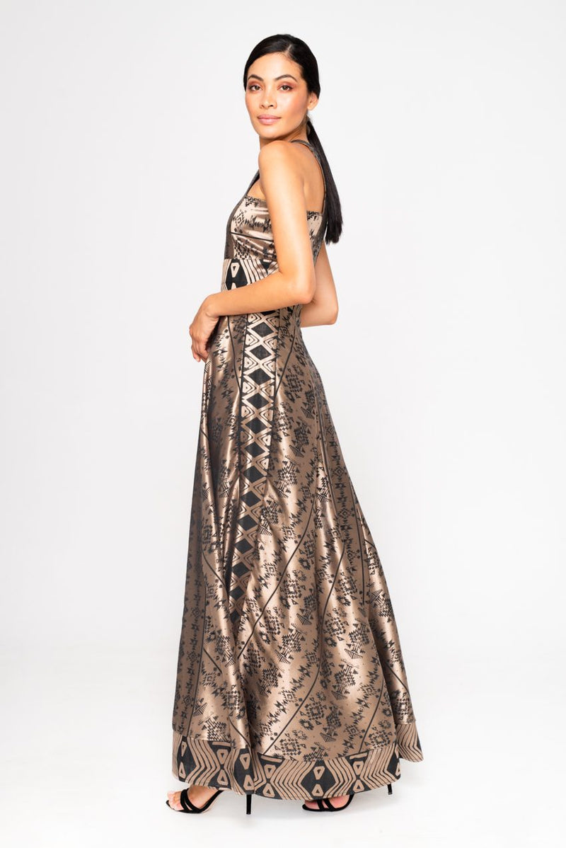 DYNASTY MAXI DRESS - JUSTBRAZIL