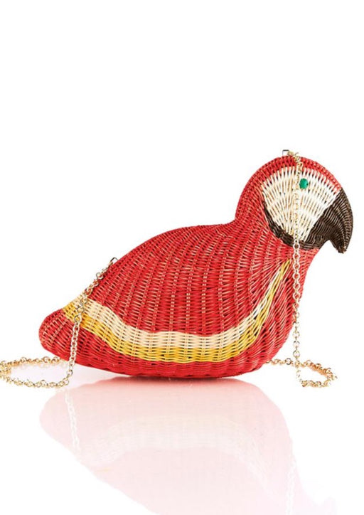 MACAW WICKER BAG