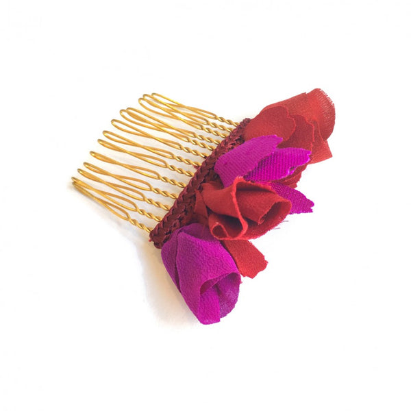 MANUELA SMALL BURGUNDY/RED COMB - JUSTBRAZIL