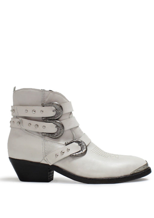 OLSEN SOFTLEA OFF WHITE BOOTS