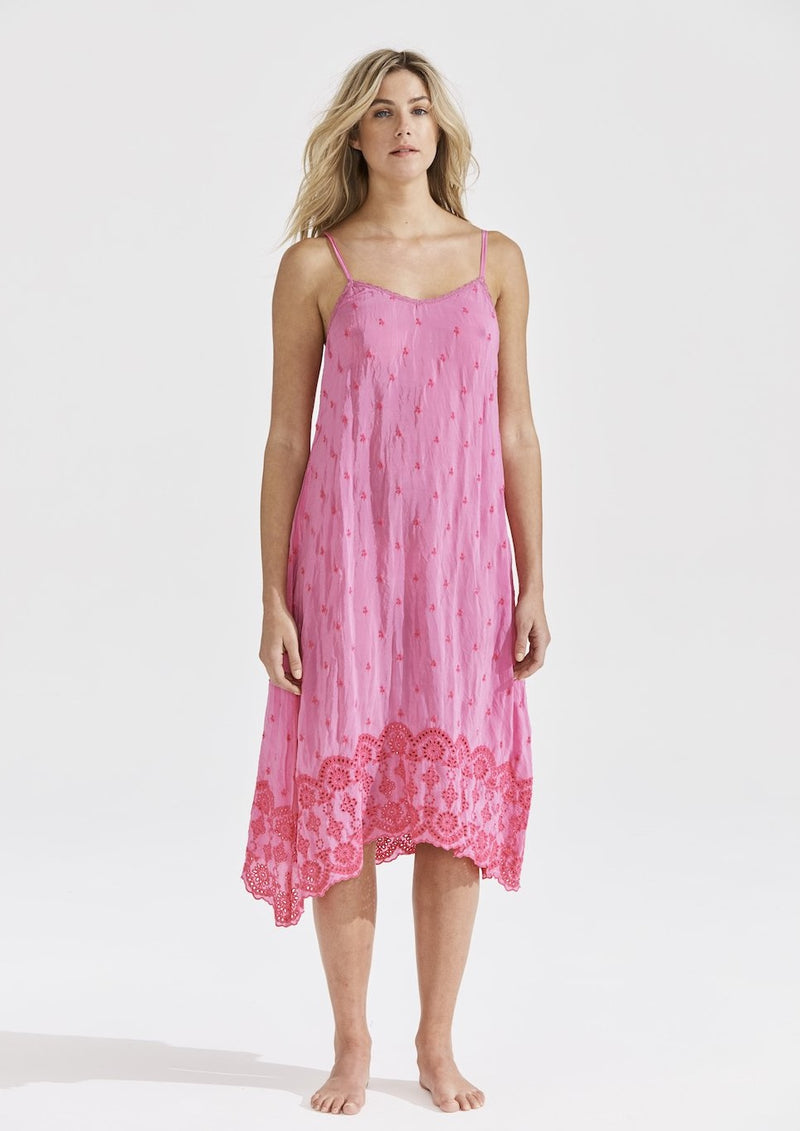 ANTOINETTE PINK DRESS - JUSTBRAZIL