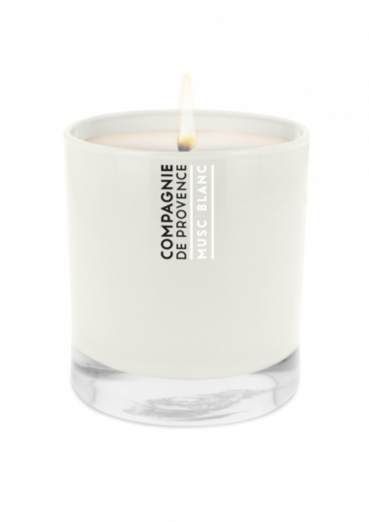 WHITE MUSK SCENTED CANDLE - JUSTBRAZIL