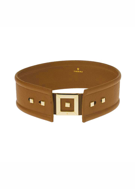 INFINITY LARGE TABAC SUEDE BELT