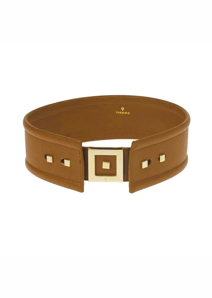 INFINITY LARGE TABAC SUEDE BELT - JUSTBRAZIL