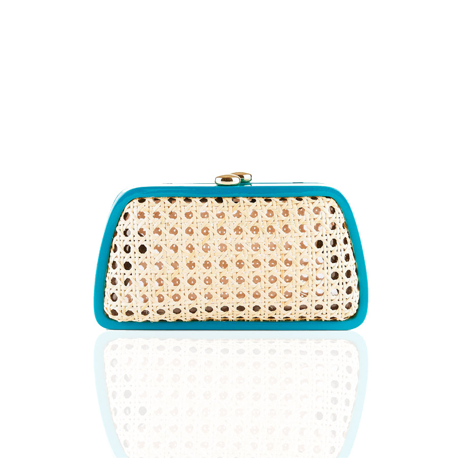 TINA RESIN TURQUOISE BAG