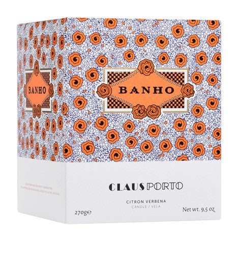 BANHO GLASS CANDLE - JUSTBRAZIL