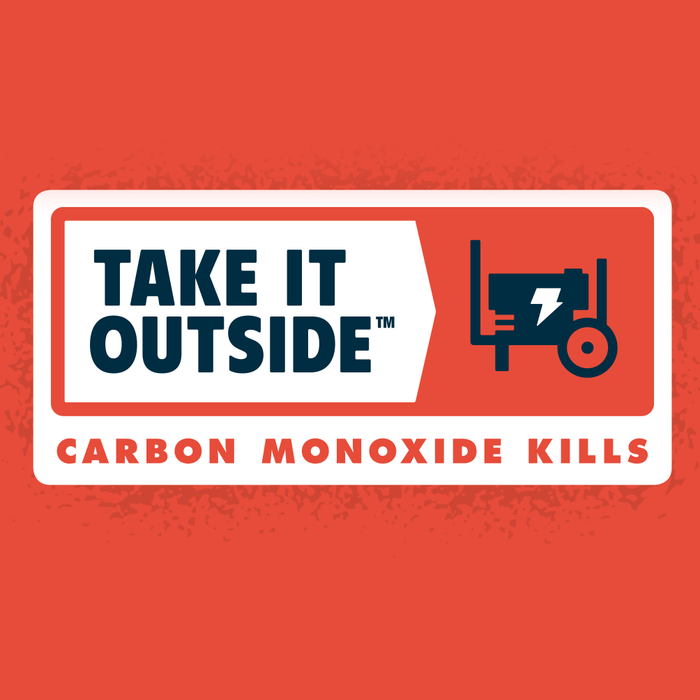 Take It Outside™ – Carbon Monoxide Kills
