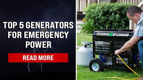 Top 5 Generators For Emergency Power