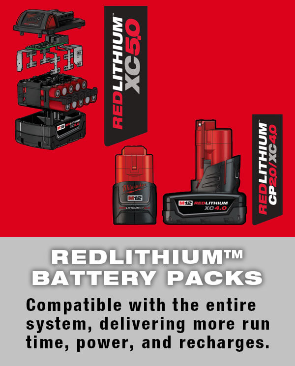 Redlithium Battery Packs