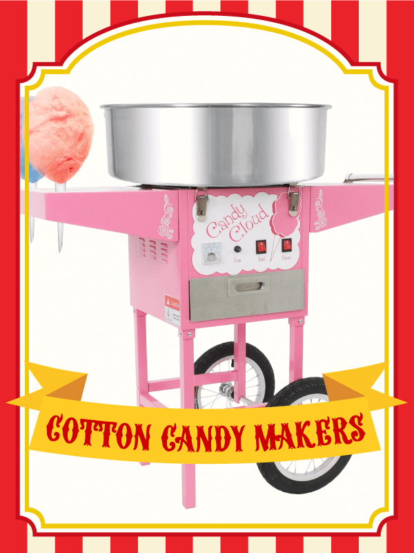 candy cloud cotton candy machines
