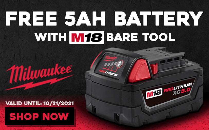 FREE Battery with M18 tool