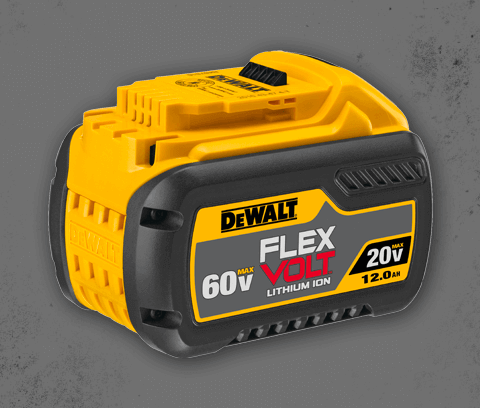 extend your runtime with flexvolt batteries