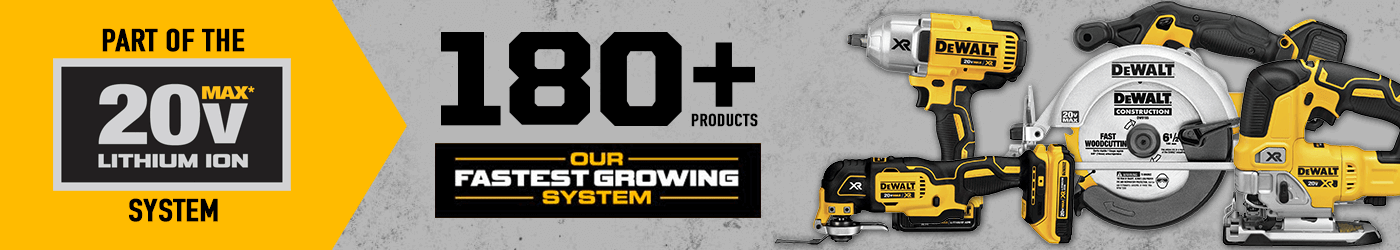 dewalt 20v fasting growing system
