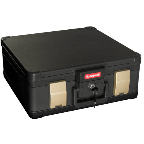 Honeywell 1103 Molded Fire / Water Resistant Safe Chest - 0.27 Cubic Feet