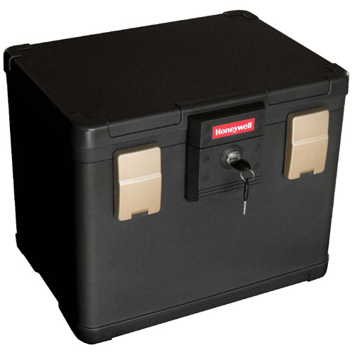 Honeywell 1106 Molded Fire / Water Resistant Safe File Chest - 0.64 Cubic Feet