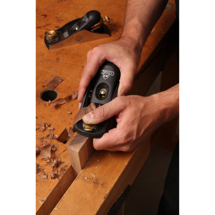 Stanley 12-139 1/2-Inch Precision Machined Iron Casting Low Angle Block Plane