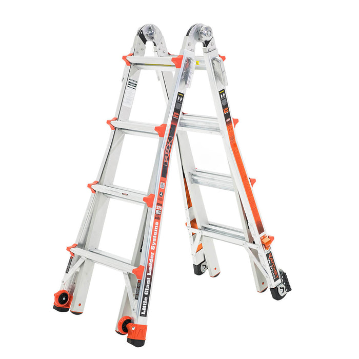 Little Giant 12117-880 375 lbs Type IAA REX Articulating Step Revolution Ladder