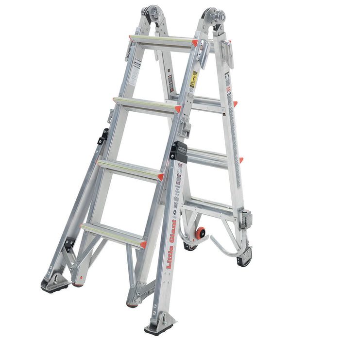 Little Giant 15197-303 17-Foot Overhaul Type IAA Ladder w/ Triggers, Hooks,Rungs