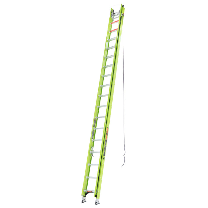 Little Giant 17336 36-Foot Type IA HyperLite Ladder w/ Cable Hook, V-rung, Claw