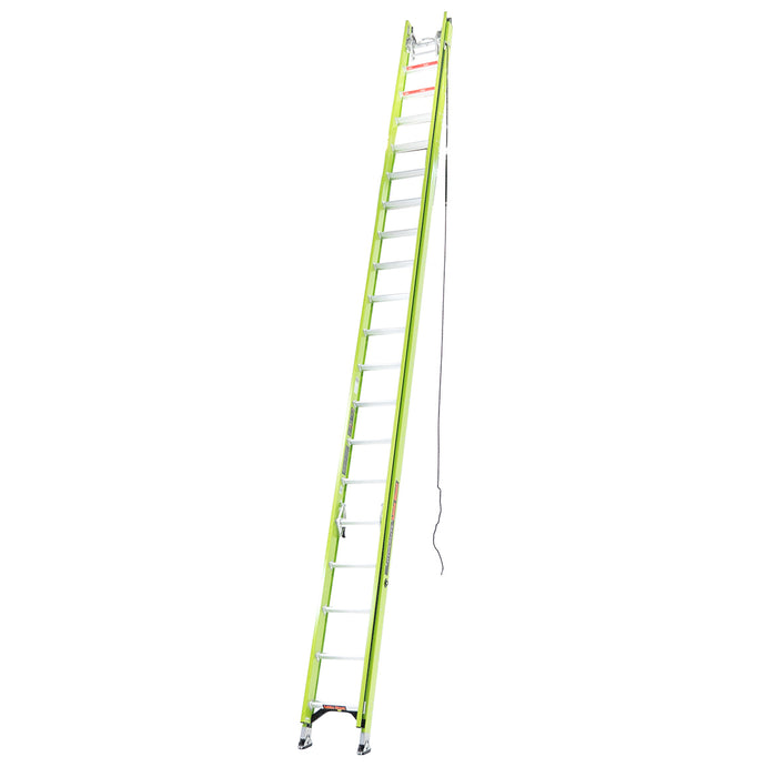 Little Giant 17340 40-Foot HyperLite Ladder w/ Cable Hook, V-rung, Claw