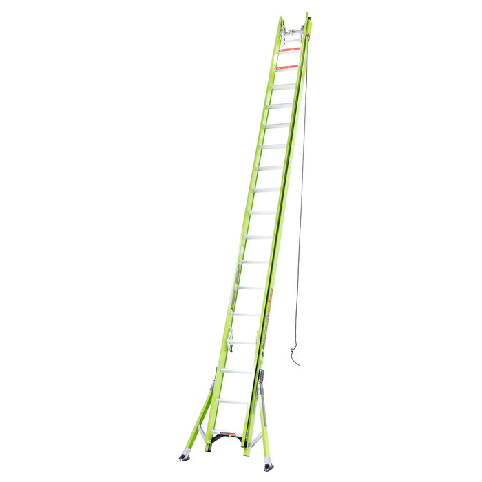 Little Giant 17436 36-Foot HyperLite Ladder w/ Cable Hook, V-rung and Claw
