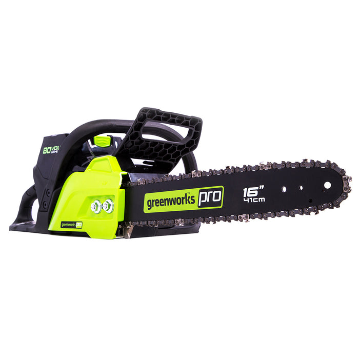 GreenWorks CS80L01 80-Volt 16-Inch Heavy Duty Chainsaw - Bare Tool - 2004202