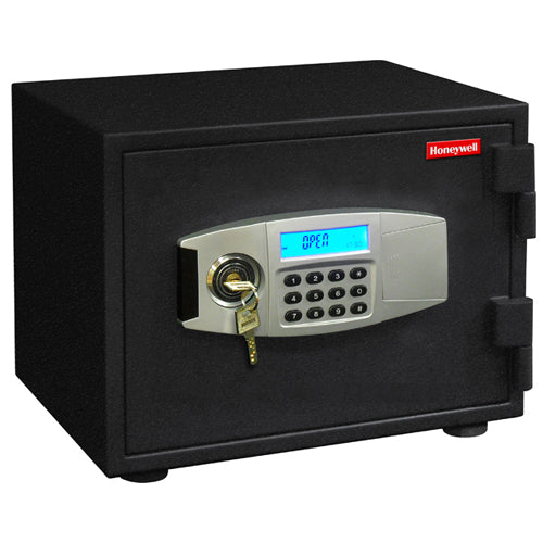 Honeywell 2111 Water Resistant Steel Fire Security Digital Safe - .50 Cubic Feet
