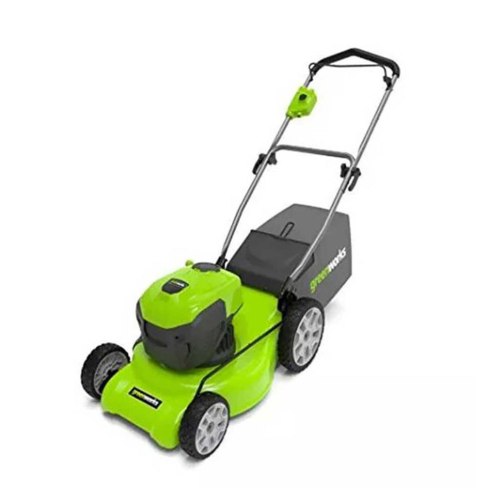 GreenWorks MO12B00 20-Inch 12-Amp Heavy Duty Electric Brushless Lawn Mower - 2507602