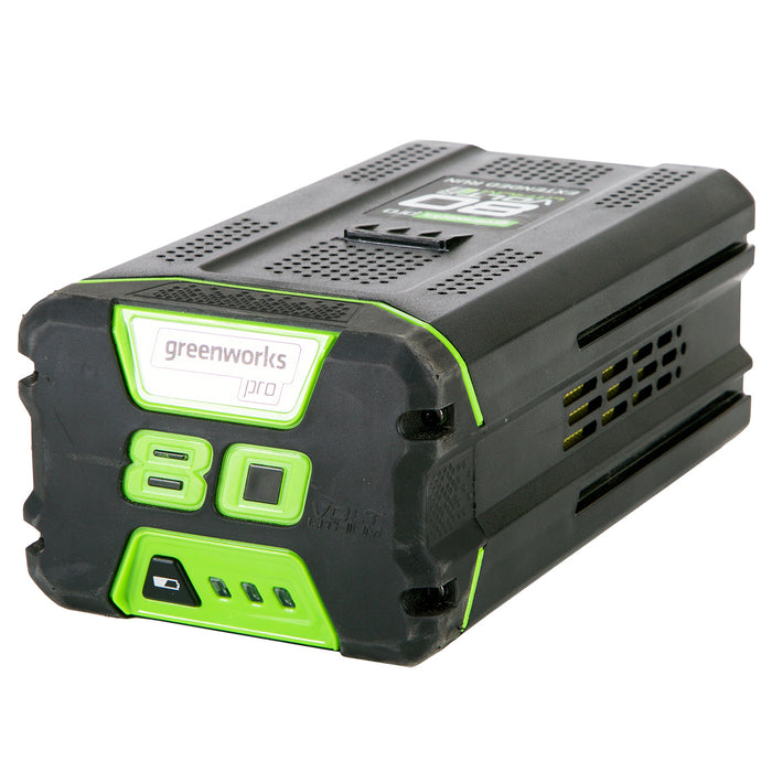 GreenWorks GBA80400 80-Volt 4.0Ah Lithium-Ion Rapid Charge Battery - 2902402