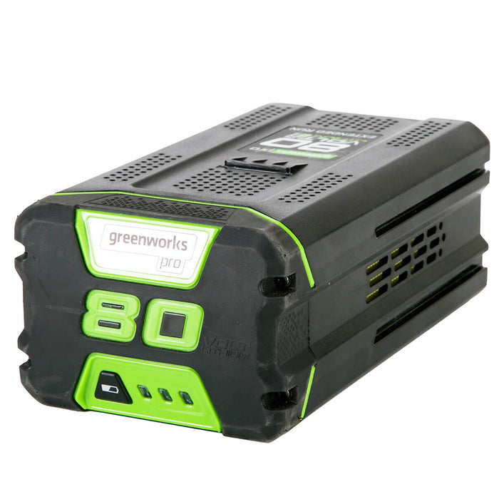 GreenWorks GBA80500 80-Volt 5.0Ah Lithium-Ion Rapid Charge Battery - 2902502