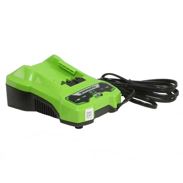 Greenworks 2938202 CAF806 24V Cordless Lithium-Ion Efficient Battery Charger