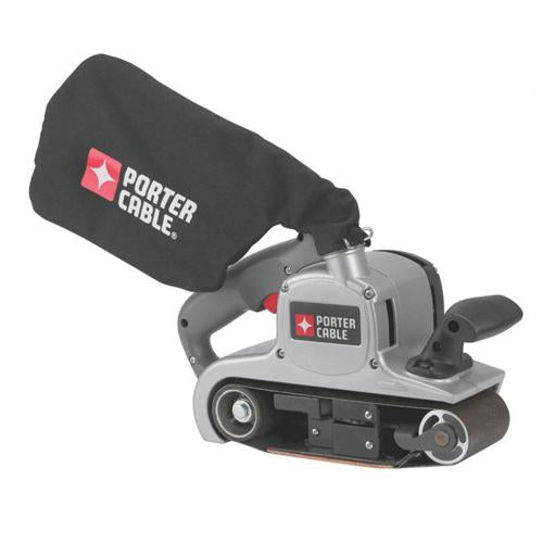 "Porter-Cable 352VS 8 Amp 3"" X 21"" Variable-Speed Belt Sander with Cloth Dust Bag"