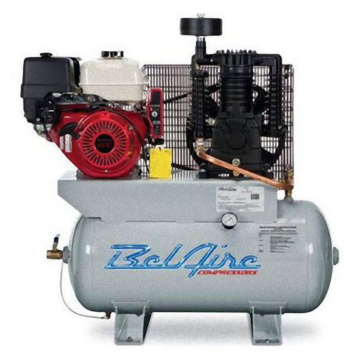 BelAire 3G3HHL 13-HP 30-Gallon Horizontal Gas Powered Truck-Mount Air  Compressor
