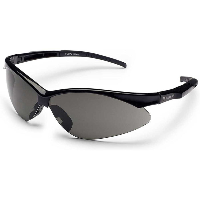 Husqvarna 501234509 Visual Durable UV Sport Protective Glasses w/ Smoke Lens