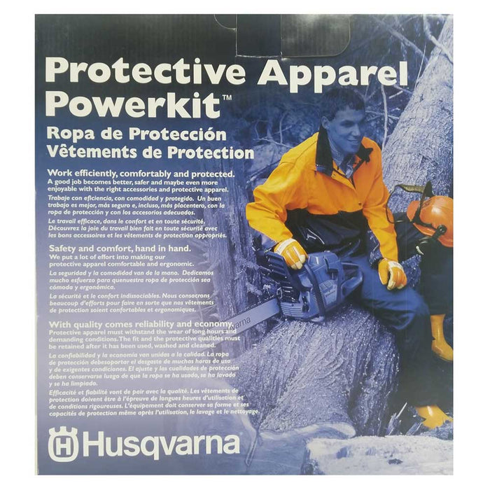 Husqvarna 588100501 Protective Powerkit Ergonomics Apparel - 6 pc
