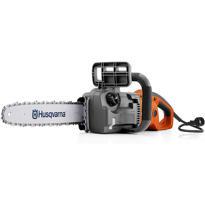 "Husqvarna 967256101 414EL 16"" Corded Electric Powered Ergonomic Chainsaw"