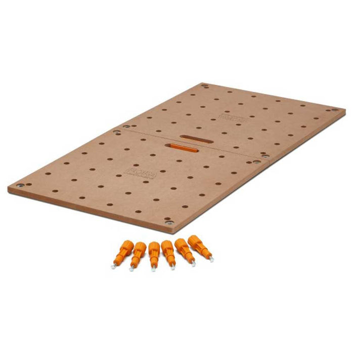 "Bora CK22TM 24x48"" Centipede Tabletop w/ 20mm Dog Holes"