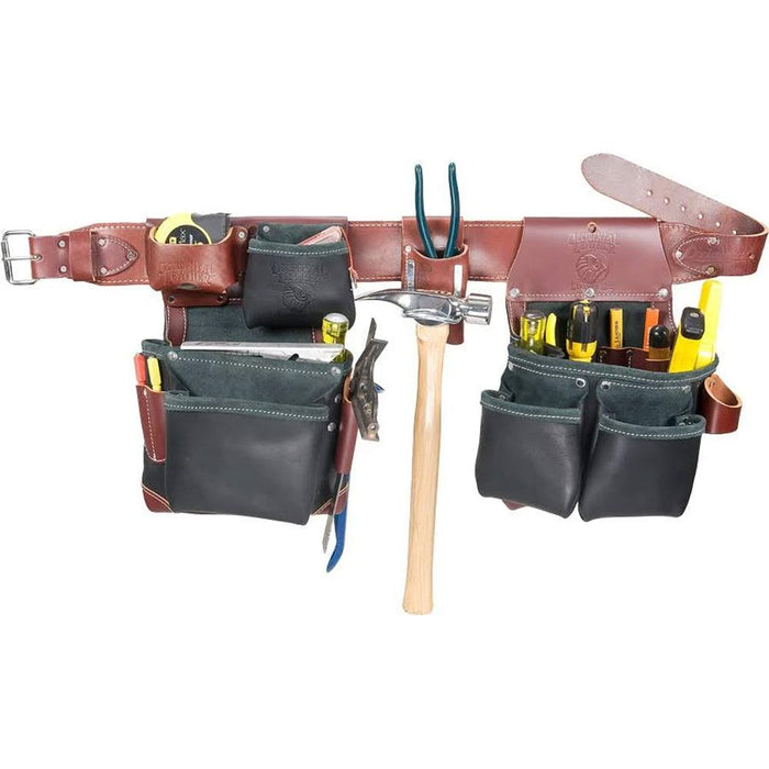 Occidental Leather B5625M Builder Black Framer Framing Tool Bag Belt - Medium