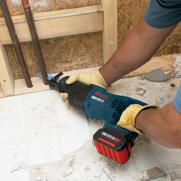 Bosch CRS180K 18V Li-Ion Cordless Compact Reciprocating Saw Kit - Reconditioned