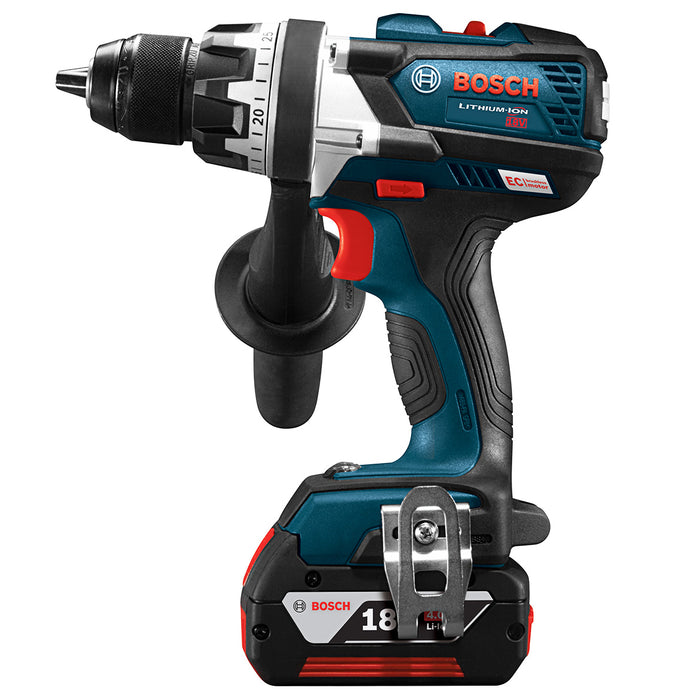 Bosch DDH183-01 18V EC Keyless Brushless Tough Drill/Driver Kit -Reconditioned