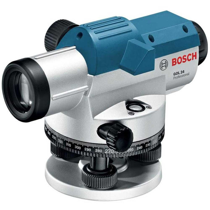 Bosch GOL 24-RT 24X Power Lens 300' Range Optical Level Kit - Reconditioned