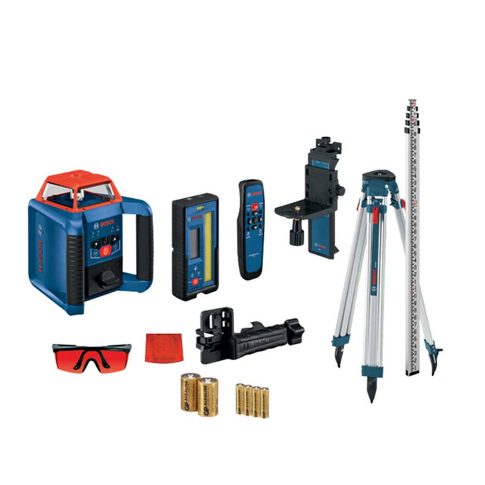 Bosch GRL2000-40HVK Cordless Self Leveling Horizontal/Vertical Rotary Laser Kit