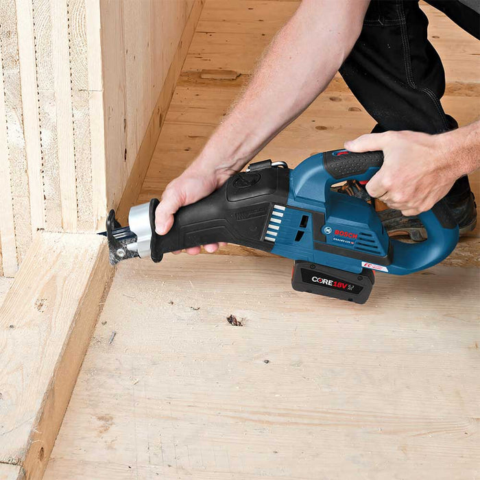 Bosch GSA18V-125K14 18V Multi-Grip Reciprocating Saw Kit - Reconditioned