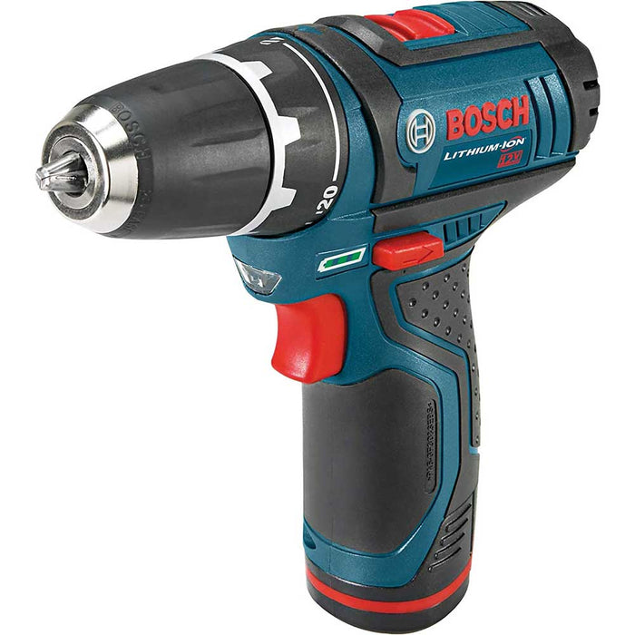 "Bosch PS31-2A-RT 12V 3/8"" Two Speed Fuel Guage Drill Driver Kit - Reconditioned"