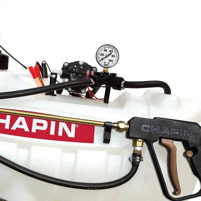 Chapin 97700E 12V 25 Gallon High Performing Professional EZ Tow Dripless Sprayer