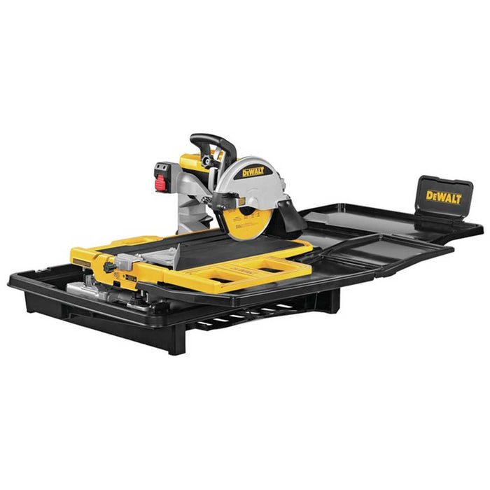 "DeWALT D36000 10"" Professional High Capacity Corded Heavy Duty Wet Tile Saw"