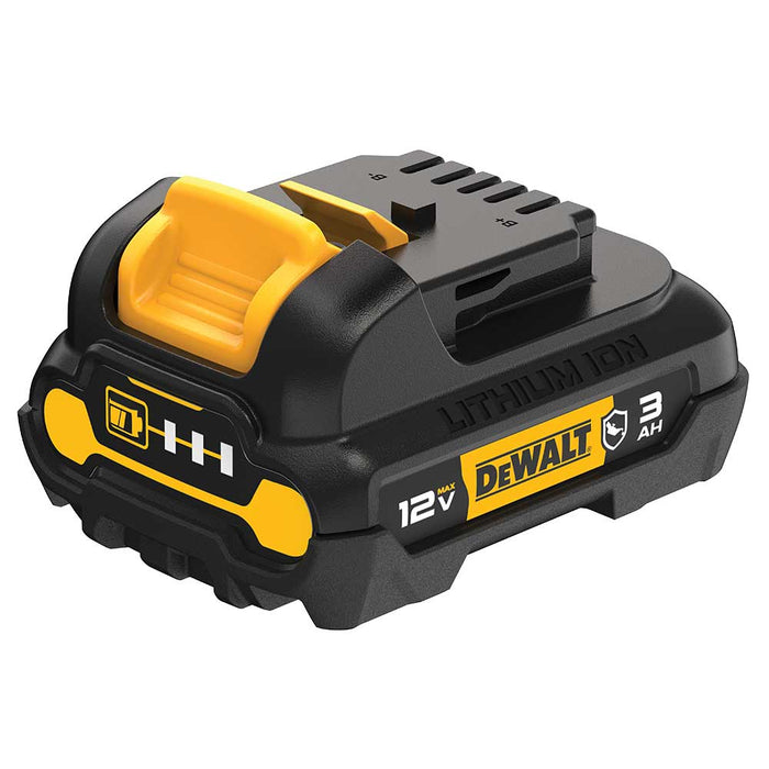 DeWALT DCB124G 12V MAX 3Ah Lightweight Lithium-Ion Durable Oil Resistant Battery