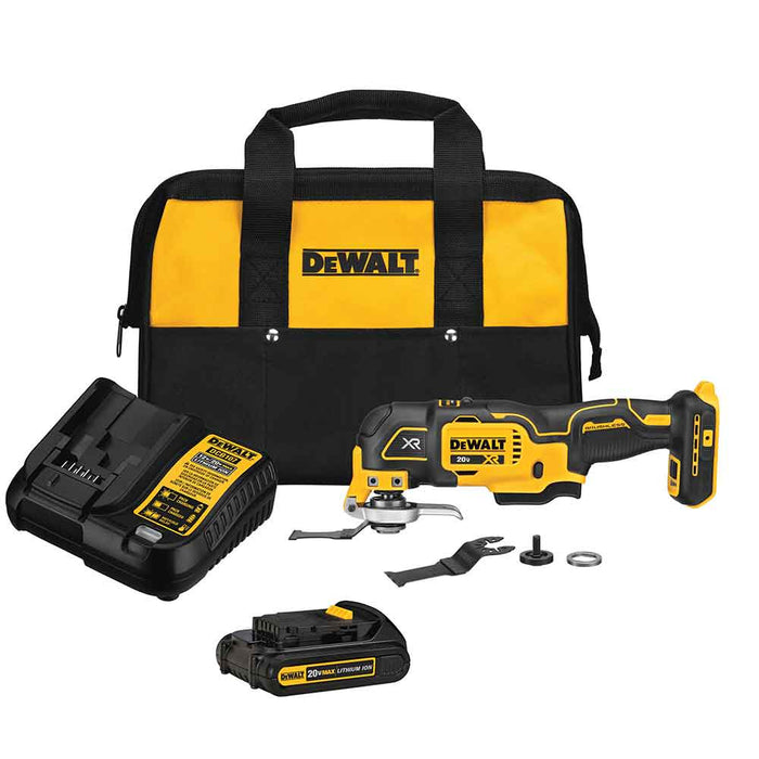 DeWALT DCS356C1 20V MAX XR 3-Speed Cordless Oscillating Multi-Tool Kit