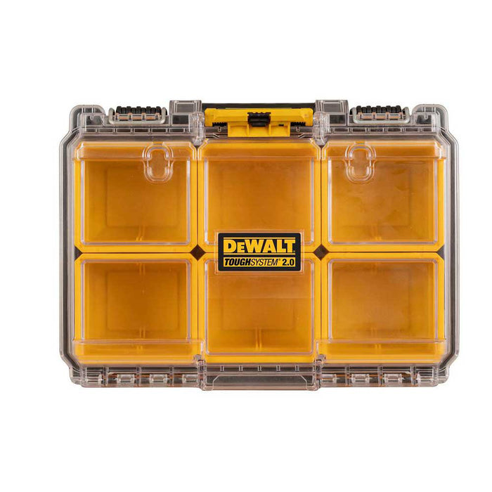 DeWALT DWST08020 TOUGHSYSTEM 2.0 6 Deep Compartment Small Parts Organizer